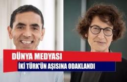 Dünya medyası iki Türk'ün aşısına odaklandı