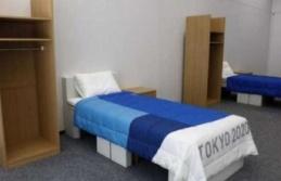 Tokyo Olimpiyatları'nda sporcuların yatak odasına cinsel ilişkiyi önleyen yatak konuldu