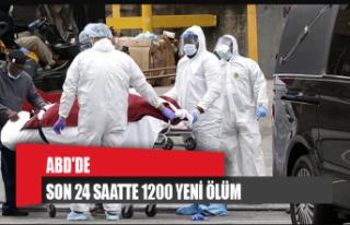 ABD'de son 24 saatte 1200 yeni ölüm