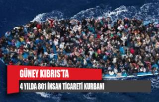 Güney Kıbrıs'ta 4 yılda 801 insan ticareti...