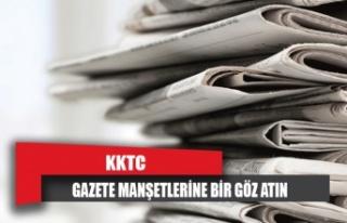 KKTC Gazetelerinin Manşetleri - 11 Haziran 2020