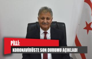 Sağlık Bakanı Pilli koronavirüste son durumu açıkladı