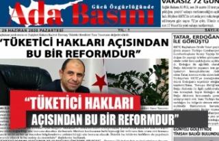 """""""TÜKETİCİ HAKLARI AÇISINDAN BU BİR REFORMDUR"""""""