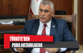 Türkiye'den para aktarılacak