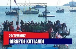 20 Temmuz Barış ve Özgürlük Bayramı Girne'de...