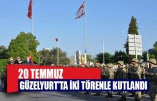 20 Temmuz Barış ve Özgürlük Bayramı Güzelyurt'ta...