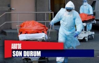 ABD'de 379 kişi daha koronavirüsten öldü