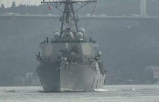 ABD savaş gemisi, 'Sea Breeze 2020' tatbikatına...