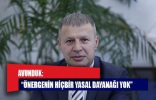 """AVUNDUK """"OLAĞANÜSTÜ GENEL KURUL"""" ÇAĞRISI..."""