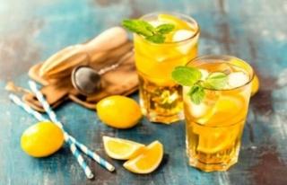 Az kalorili 6 yaz içeceği tarifi