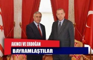Cumhurbaşkanı Akıncı İle TC Cumhurbaşkanı Erdoğan...