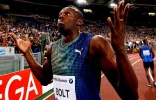 Dünyanın en hızlı insanı Usain Bolt, pistlere...