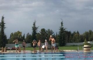 GAÜSEM yaz dönemi 2. dönem yüzme kursu 21 Temmuz'da...