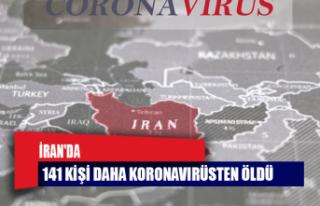 İran'da 141 kişi daha koronavirüsten öldü