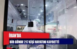 İran'da Covid-19'dan bir günde 217 kişi...