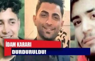 İran'da üç gencin idam kararı durduruldu:...