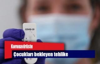 Koronavirüste çocukları bekleyen tehlike