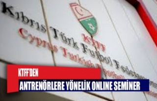KTFF'den antrenörlere yönelik online seminer