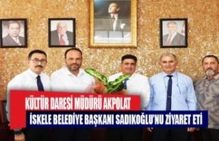 Kültür Dairesi Müdürü Akpolat, İskele Belediye...