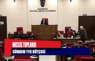Meclis'te gündem YYK bütçesi