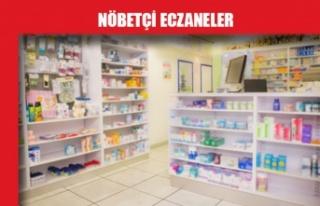 Nöbetçi Eczaneler / 28 Temmuz 2020