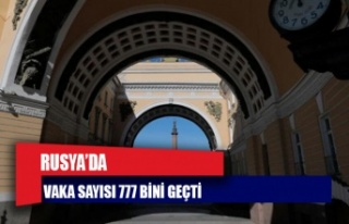 Rusya'da Covid-19 vakası sayısı 777 bini geçti