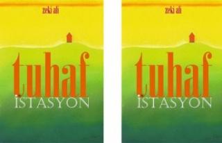 Şair Zeki Ali'nin 10'uncu şiir kitabı Tuhaf...