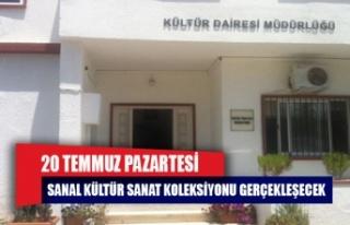 Sanal Kültür Sanat Koleksiyonu web sayfasının...