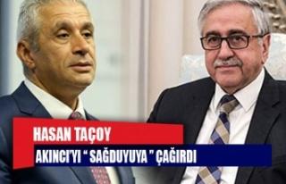 """""""Sayın Mustafa Akıncı'yı sağduyuya davet..."""