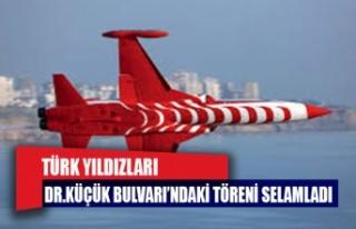 Türk Yıldızları töreni selamladı
