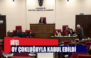YYK bütçesi kabul edildi