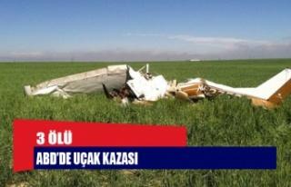 ABD'de küçük uçak düştü: 3 ölü