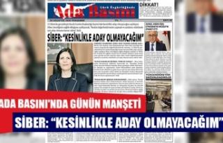 Ada Basını'nda Günün Manşeti