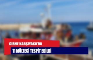Girne Karşıyaka'da 11 mülteci tespit edildi