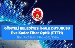 Gönyeli Belediyesi İhale Duyurusu - Eve Kadar Fiber...