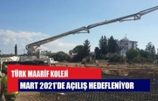İskele Türk Maarif Koleji binasının temeli atıldı:...