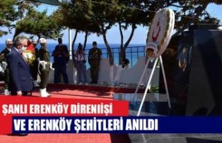 Şanlı Erenköy Direnişi ve Erenköy Şehitleri...