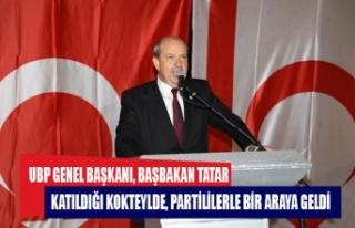 TATAR, GAZİMAĞUSA'DA PARTİNİN İLÇE TEŞKİLATLARININ...