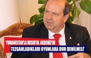 Tatar: Yunanistan'la Mısır'ın, Akdeniz'de...