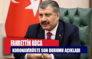 Türkiye'de 1083 yeni vaka
