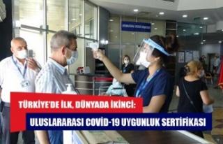 Türkiye'de ilk, dünyada ikinci: Uluslararası...