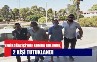 Yeniboğaziçi'nde bomba bulundu, 2 kişi tutuklandı