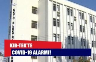 KIB-TEK'te Covid-19 alarmı