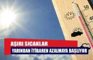 ÖNÜMÜZDEKİ HAFTA EN YÜKSEK SICAKLIK 37 DERECE...