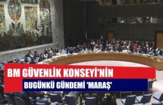BM Güvenlik Konseyi'nin bugünkü gündemi 'Maraş'
