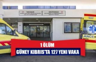 Güney Kıbrıs'ta 127 yeni vaka, 1 ölüm
