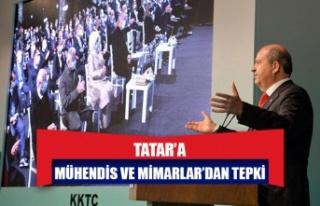 Mühendis ve Mimarlar'dan Ersin Tatar'a tepki:...