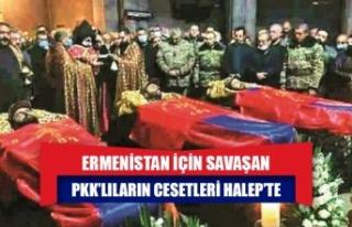 Ermenistan için savaşan PKK'lıların cesetleri...