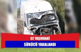 52 yaşındaki sürücü yaralandı