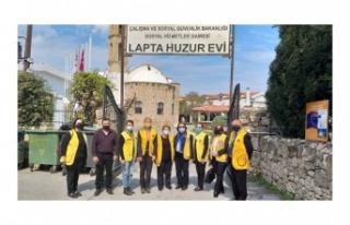 DÖRT LİONS KULÜBÜ LAPTA HUZUREVİ'NE BAĞIŞTA...